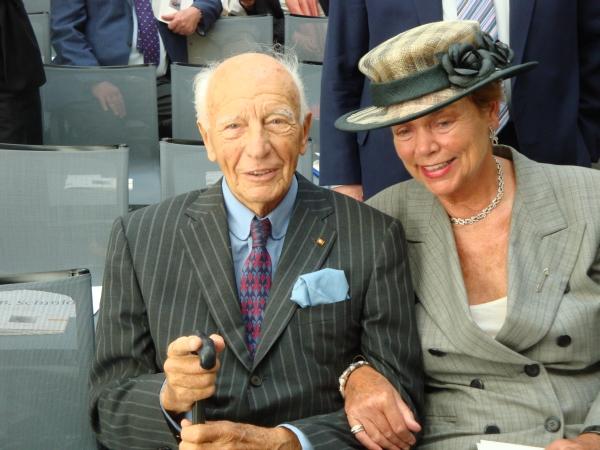 Barbara und Walter Scheel 26.5.2011