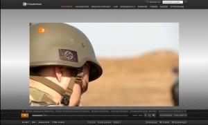 Hakenkreuz-Helm ZDF-Heute 08.09.2014