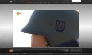 SS-Helm ZDF-Heute 08.09.2014